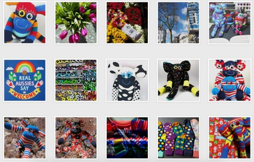 Some of my latest Instagram posts.