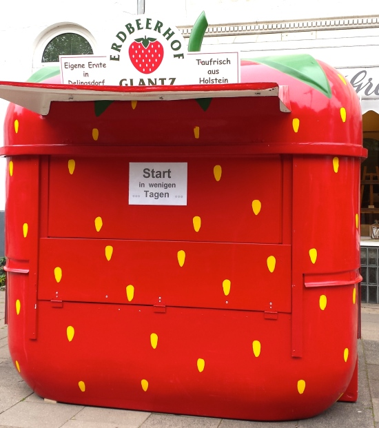 Strawberry  Hut, Hamburg, Germany