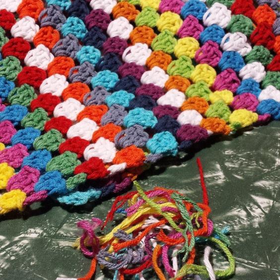 Gus and Ollie, crochet, blanket, handmade