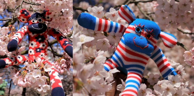 gus and ollie, handmade in hamburg, Germany, baby, instagram, sock monkey