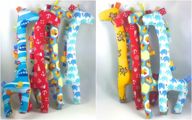 gus and ollie, handmade in hamburg, Germany, baby, instagram, sock monkey, tag, giraffe, handmade, fabric, baby, toy, gift